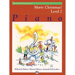 Alfred's Basic Piano Library Merry Christmas! Book 2