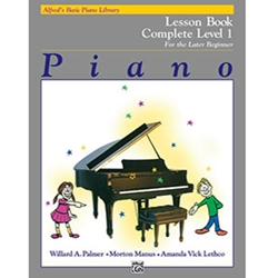 Alfred's Basic Piano Library Complete Lesson 1 (1A/ 1B)