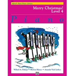 Alfred's Basic Piano Library Merry Christmas Book 4