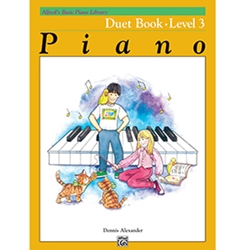 Alfreds Basic Piano Library Duet Book 3
