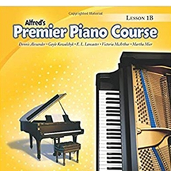 Alfred Premier Piano Course Lesson 1B Book Only