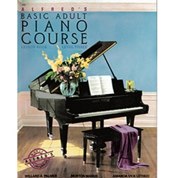 Alfred's Basic Adult Piano Course Lesson Book 3