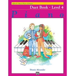 Alfred Basic Piano Library Duet Book 4