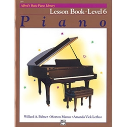 Alfred's Basic Piano Library Lesson Book 6