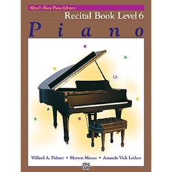 Alfred's Basic Piano Library Recital Book 6