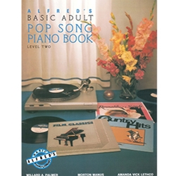 Alfred's Basic Adult Piano Course Pop Songs Book 2