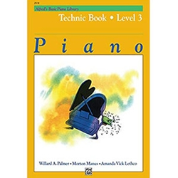 Alfred's Basic Piano Library Technic Book 3
