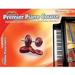 Alfred Premier Piano Course Techique Book 1A