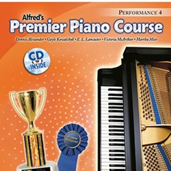 Alfred Premier Piano Course Performance Book 4