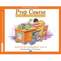 Alfred's Basic Piano Library Prep Course Activity Book A