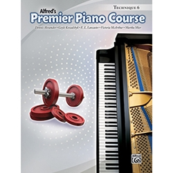 Alfred Premier Piano Course Technique Book 6