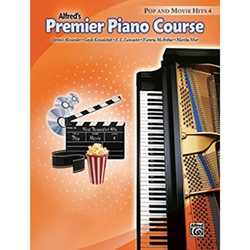 Alfred Premier Piano Course Pop and Movie Hits Book 4