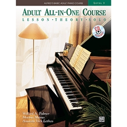 Alfred's Basic Adult All-in-One Course Book 3