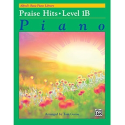 Alfred's Basic Piano Library Praise Hits Book 1B