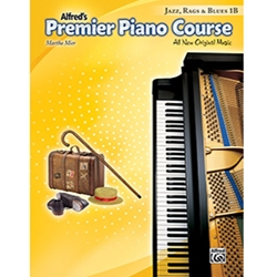 Alfred Premier Piano Course Jazz, Rags & Blues Book 1B