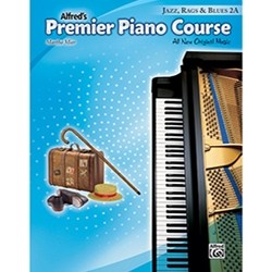 Alfred Premier Piano Course Jazz, Rags & Blues Book 2A