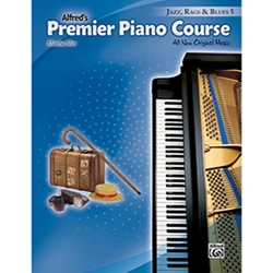 Alfred Premier Piano Course Jazz, Rags & Blues Book 5