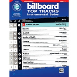 Billboard Top Tracks Instrumental Solos Tenor Sax