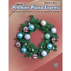 Alfred Premier Piano Express Christmas Book 4
