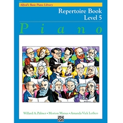 Alfred's Basic Piano Library Repertoire Book 5