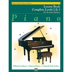 Alfred's Basic Piano Library Lesson Book Complete 2 & 3