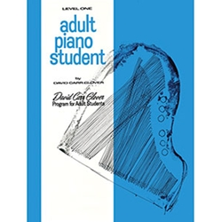 Adult Piano Student Level 1