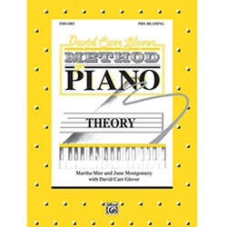 David Carr Glover Method for Piano Theory Pre-Reading