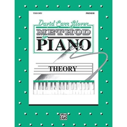 David Carr Glover Method for Piano Theory Primer