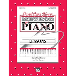David Carr Glover Method for Piano Lessons Level 2