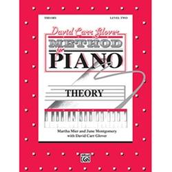 David Carr Glover Method for Piano Theory Level 2