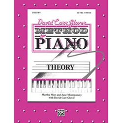 David Carr Glover Method for Piano Theory Level 3