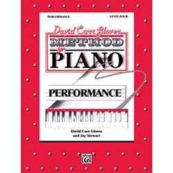 David Carr Glover Method for Piano Performance Level 4