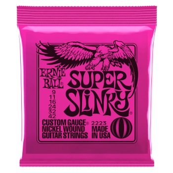 ERNIE BALL 2223 Electric Guitar Super Slinky