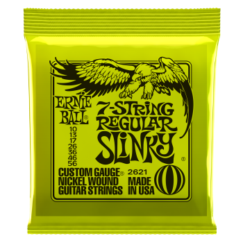 ERNIE BALL 2621 Regular Slinky Nickel 7 String