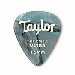 80740 Taylor Premium Darktone 351 Thermex Ultra Picks Abalone 1.50mm 6-Pack