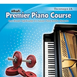 Alfred's Premier Piano Course Technique Book 2A