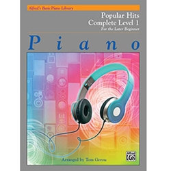 Alfred's Basic Piano Library Popular Hits Complete Level 1