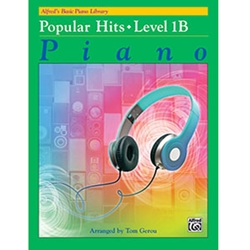 Alfred's Basic Piano Library Popular Hits Book 1B
