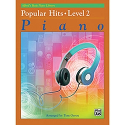 Alfred's Basic Piano Library Popular Hits Book 2