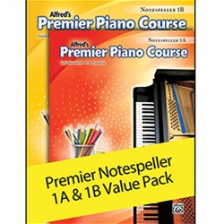 Alfred Premier Piano Course Notespeller Books 1A & 1B Value Pack