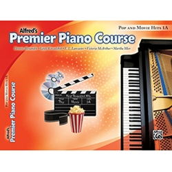 Alfred Premier Piano Course Pop & Movie Hits Book 1A