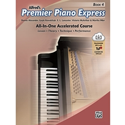 Alfred's Premier Piano Express Book 4